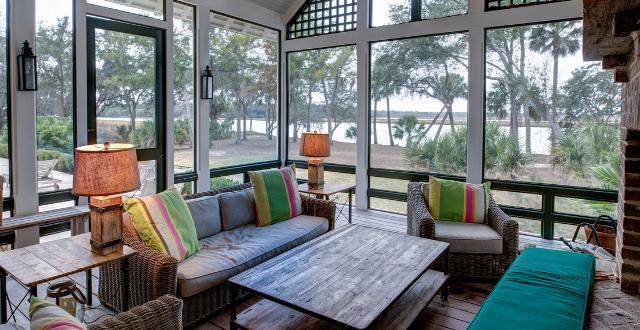 veranda a vetrata